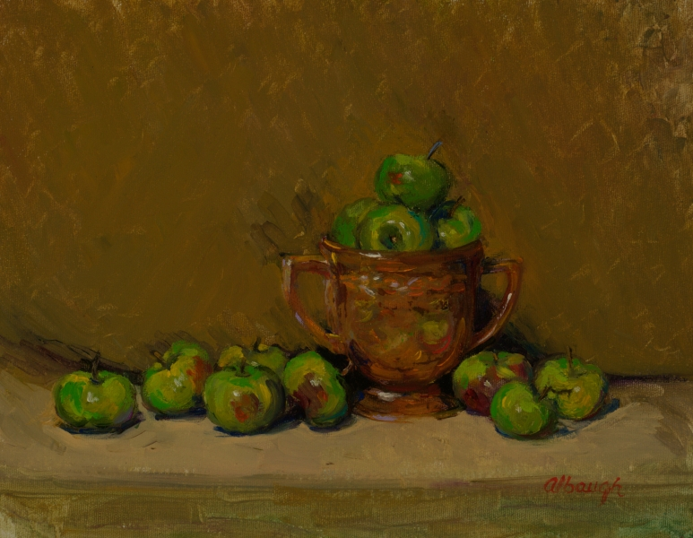 Christmas Apples by Chrys Albaugh