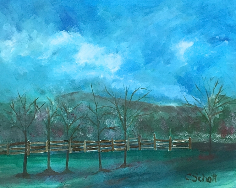 Scenic Parkway #1 by Christina Schott
