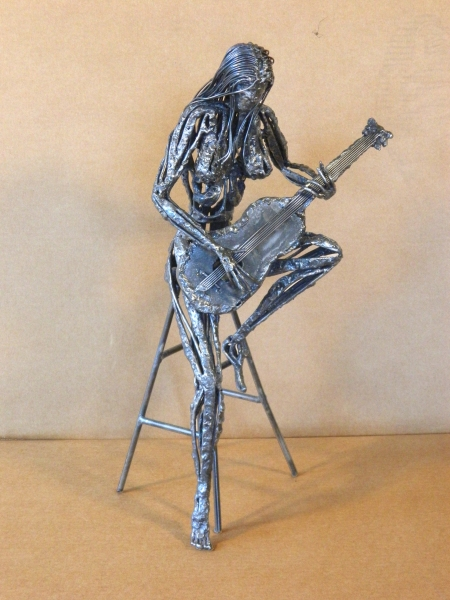 Guitarist by Ron Whitacre