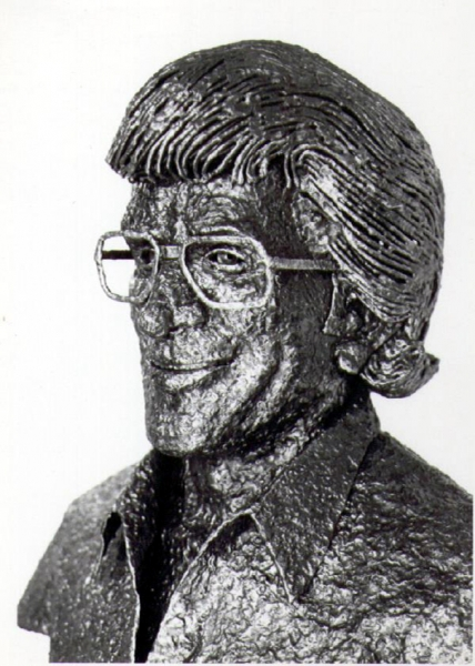 Bust of Dr. Yuppa by Ron Whitacre