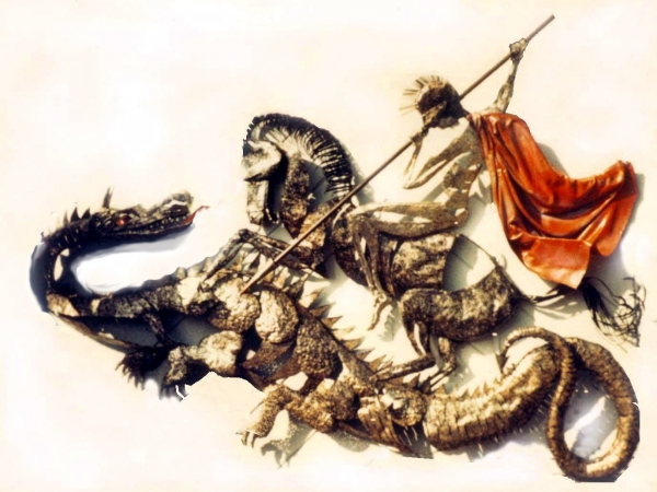 St George and the Dragon by Ron Whitacre