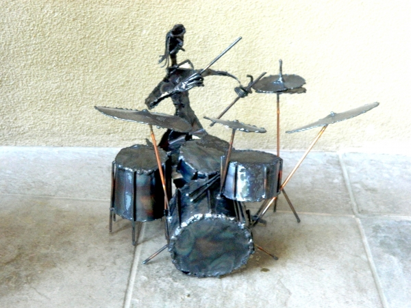 Drummer by Ron Whitacre
