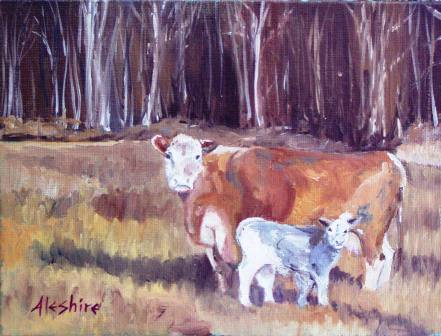 Newest Member of the Herd by Anne Aleshire