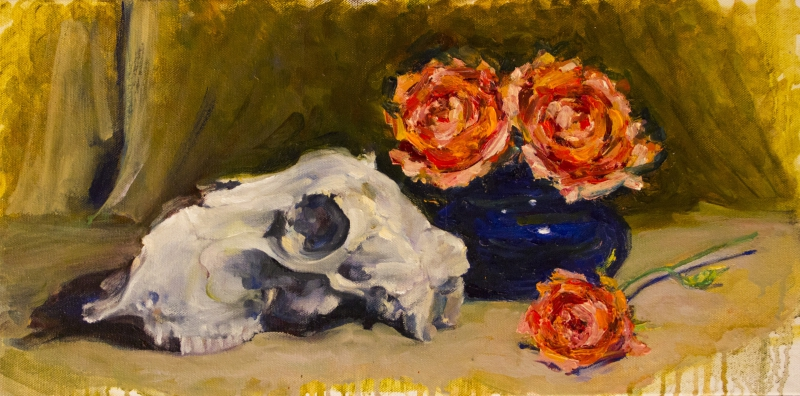 Bones & Blooms #2 by Chrys Albaugh