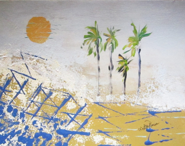 (#302) Four Palms ... by Lee Pierce