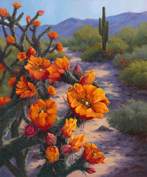 Desert Radiance by Lucy Dickens