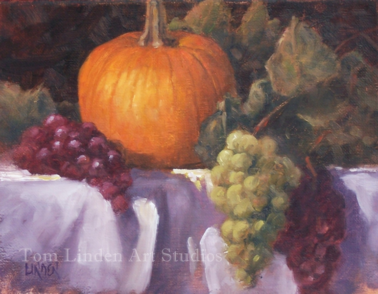 Pumpkin Study (Thanksgiving) by Tom Linden
