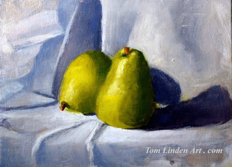 Pear Study by Tom Linden