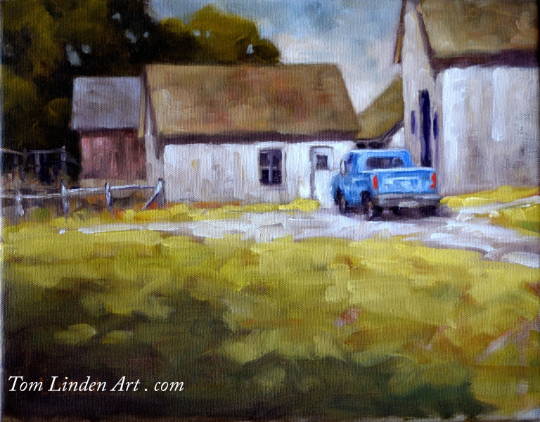 Truck at Sisson's by Tom Linden