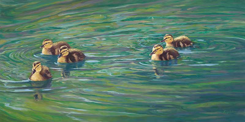 Hey Little Duckies! by Lucy Dickens