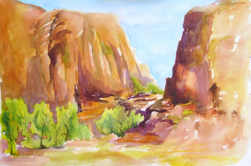 The Narrows by Sue Zinngrabe Gold