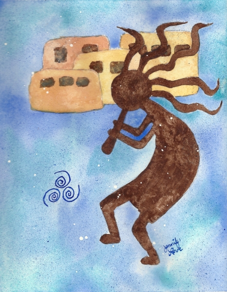 Kokopelli Air by Jennifer Love