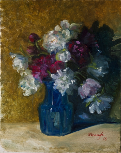 Peonies by Chrys Albaugh