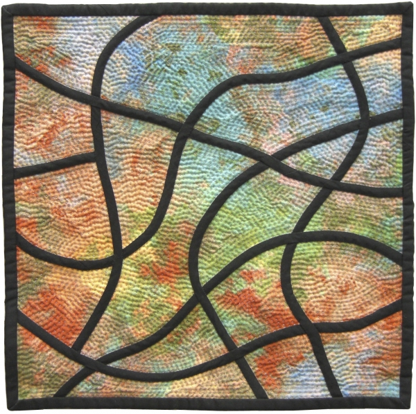 Stained Glass Mosaic #4 by Jean M. Judd