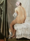 Bather, after Ingres by Mairi Budreau, AFCA