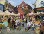 English Farmer's Market by Susan Brabeau
