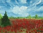 Poppy Field by Christina Schott