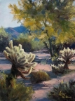 Cholla Glow by Lucy Dickens