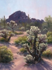 Cholla Lights by Lucy Dickens