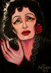Edith Piaf et la Vie en Rose by Amy Polling