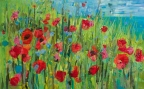 Poppies by Linda Hendrickson