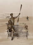The Wright Brothers Bench by Gary Lee Price