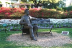 Abraham Lincoln Bench by Gary Lee Price