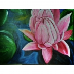 Lotus Dreams by Loreana Wrench