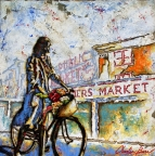 Early Morning at the Market by Charlie Barr