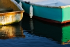 Skiffs at Dawn, Martha's Vineyard by Howard E. Fineman