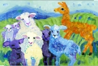 Curly the Sheep Herder by Linda Hendrickson