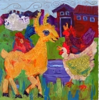 Curly the Chicken Herder by Linda Hendrickson