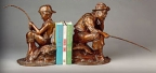 Beginner's Luck Bookends by Gary Lee Price