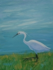 Sweet Egret by Christina Schott