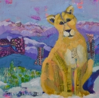 Snow Cat by Linda Hendrickson