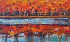 Autumn Reflections by Olivia Wilder