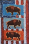 Three Buffalo by Dave Newman