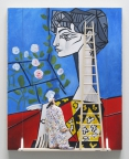 Jacqueline With Flowers (Picasso) by Stephen Hansen