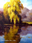 Autumn Willow by Tom Linden