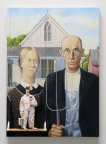 American Gothic (Wood) by Stephen Hansen