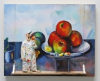 Still Life with Apples (Cezanne) by Stephen Hansen