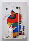 Woman, Bird, and Star (Miro) by Stephen Hansen