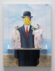 The Son of Man (Magritte) by Stephen Hansen