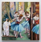 Dancers, Pink and Green (Degas) by Stephen Hansen