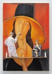 Portrait of Jeanne Hebuterne in a Large Hat (Modigliani) by Stephen Hansen