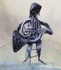 FRENCH HORN PLAYER by Ron Whitacre