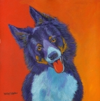 Baxter the Border Collie by Kathy E. Walker
