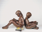 Story Time (life size) by Gary Lee Price