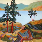 Bighorn Trail by Carolee Clark