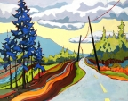 Road Ribbon by Carolee Clark